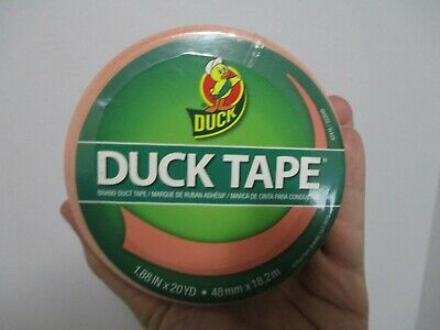 Just Peachy Duck Tape Duct Tape 1.88in. X 20yd. New
