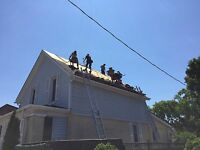 Roofers/ shinglers wanted
