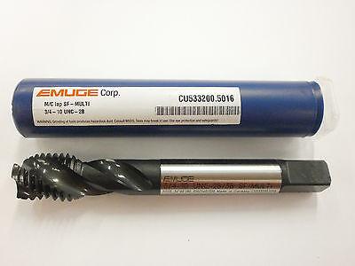 Emuge 34-10 Spiral Flute Multi-tap 2b3b High Performance Germany Cu5332005016