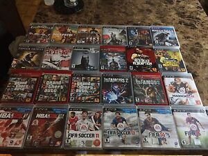 PlayStation 3 games for sale (cheap prices) most 5$ each
