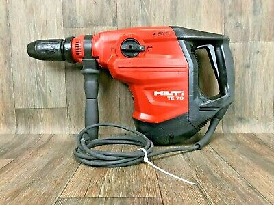 Hilti-te 70 Avr Side Handle Combi-hammer Drill Sds Max Demo Jack 55 56 Atc Y