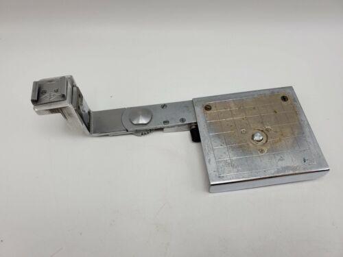 Vintage Medium Format TLR Pivoting Metal Camera Flash Shoe Bracket - EP marked