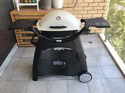 Weber Q Premium 2200 BBQ with Weber Patio Cart Cremorne North Sydney Area Preview