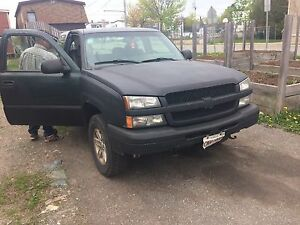 03 Chevy  4x4 looking to trade for bike