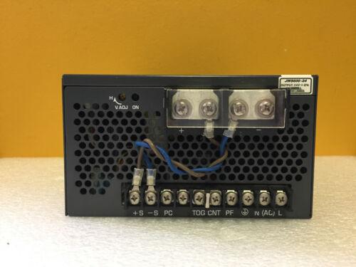 Densel-Lambda JWS600-24 24 V @ 27 A Output, DC Power Supply. Tested!