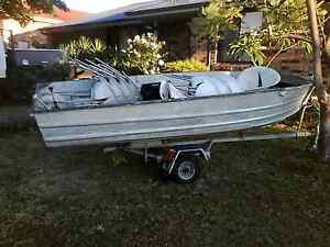 15ft tinny boat with 25 hp motor Narellan Camden Area Preview