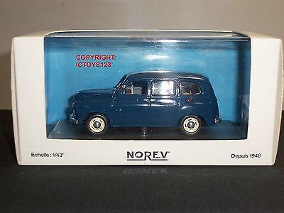 NOREV 519170 RENAULT COLORALE PRARIE BLUE DIECAST MODEL VAN CAR