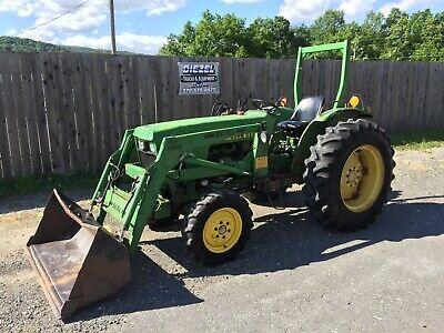 John Deere Jd 1050 Compact Tractor Loader 4x4 Turbo Diesel