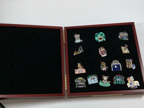Gary Patterson Cat Pin Collection of 15 pins