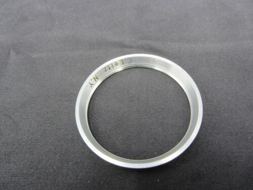 Leitz Leica SOOQR NY Summitar 36mm To E39 39mm Chrome Rim Screw-In Adapter Ring