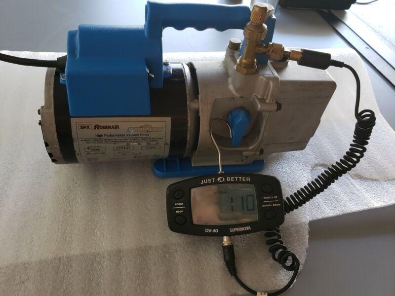 Robinair vacuum pump 15600