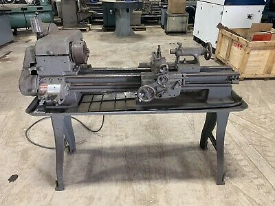 Logan Toolroom Lathe 12 X 36 6 Chuck