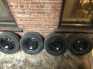 "17"" BMW X1 Steel Wheels with Winter Tires"