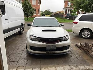 Subaru sti sport tech loaded with upgrades