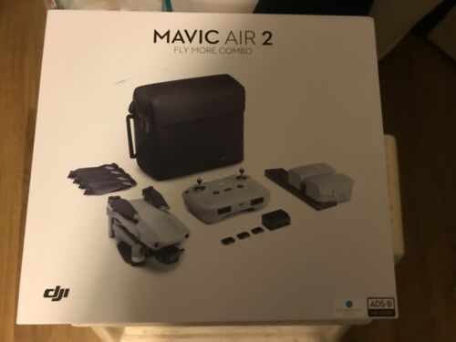 New open box dji mavic air 2 flymore combo with auto refresh never activated