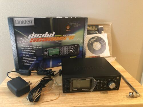 Uniden BCD996XT APCO 25 Mobile Trunktracker IV Scanner