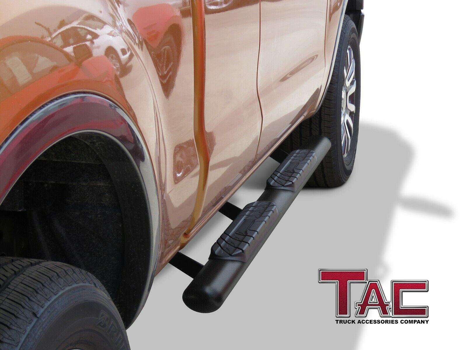 "TAC Side Steps Running Boards Fit 2019-2020 Ford Ranger Super Cab Truck Pickup 3/"" Texture Black Side Bars Nerf Bars Off Road Accessories"