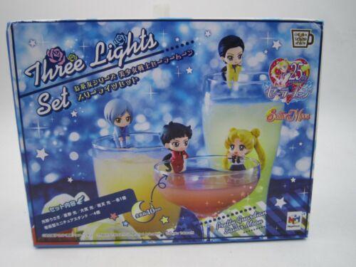 Sailor Moon Ochatomo Series Figure Three Lights Set MegaHouse Japan Limited