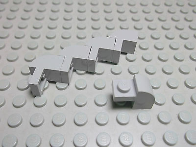Lego 10 Rundsteine Bogensteine 2x1x1 rot   6091 Set 5986 6280 8157 5571