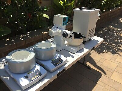Used Yhchem Lab Equipment 1 Rotary Evaporator 1 Water Bath Heater 2 Zncl-ts