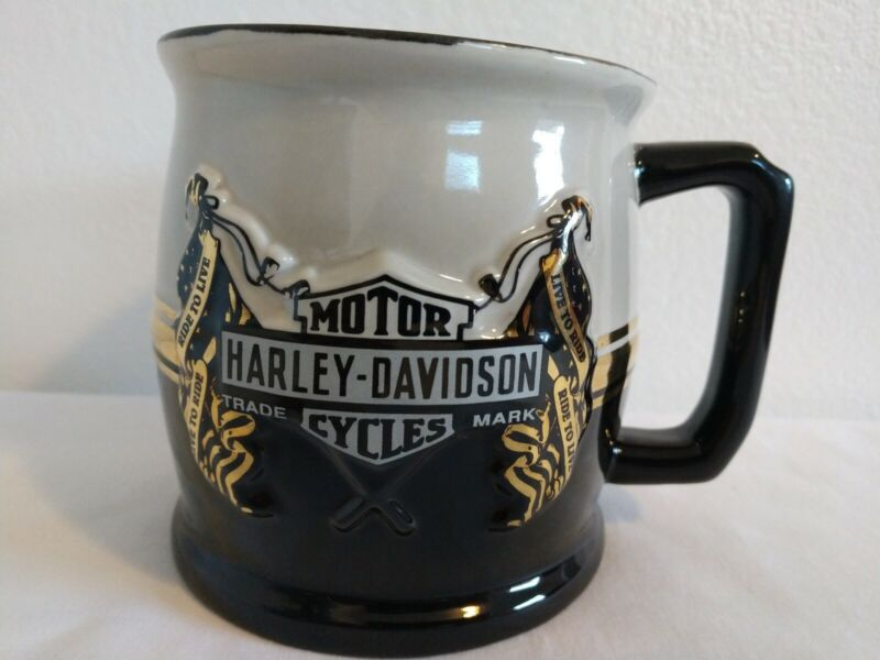 AWESOME  Harley Davidson Cycles  Coffee Cup Mug FREE SHIPPING