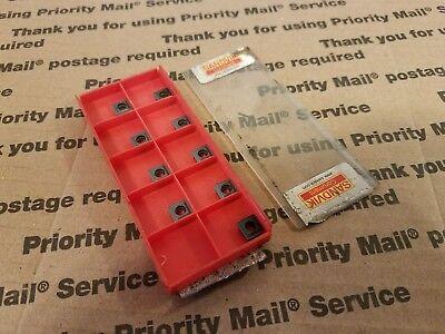 Sandvik Coromant 880-04 03 W07h-p-lm Qty Nine Carbide Inserts