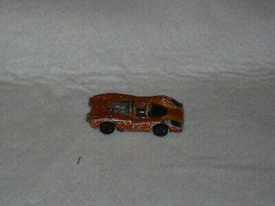 Hot Wheels Car Lot 1982 Turbo Streak/ 1977 Porche P-917 Flying Colors Orange
