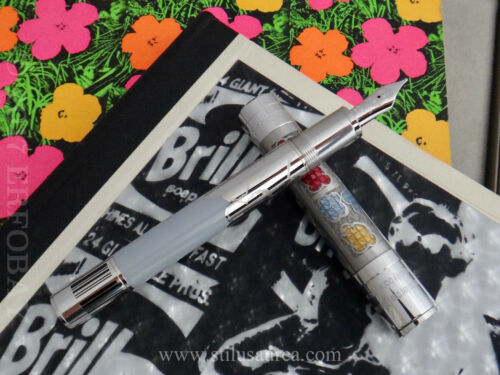 Montblanc Andy Warhol 2015 Great Characters Limited Edition Fountain Pen Le 1928