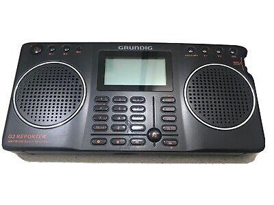 Grundig G2 Reporter AM FM Shortwave Radio Recorder FOR