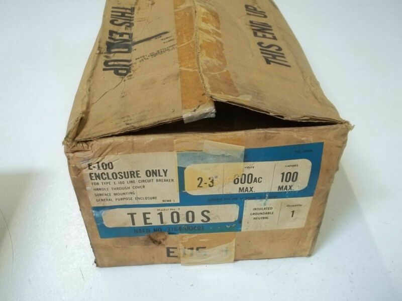 GENERAL ELECTRIC TE100S ENCLOSURE ONLY *NEW IN BOX*
