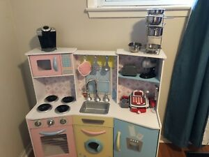 Child's Play Kitchen With Accessories