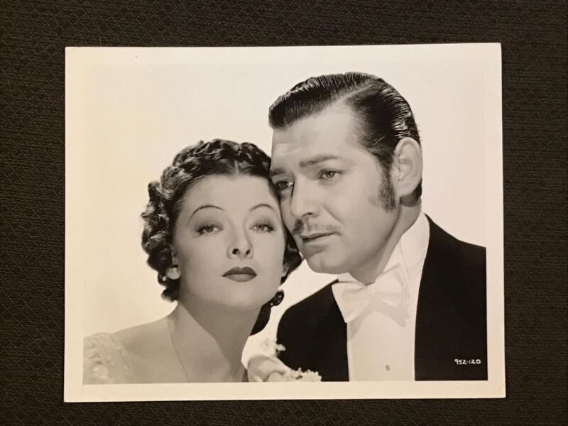 Clark Gable. -  Original 1937.  Bull Movie Photo - Parnell