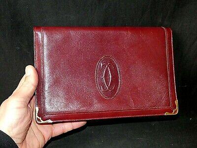 Sacoche Cartier sac Cartier pochette en cuir Cartier