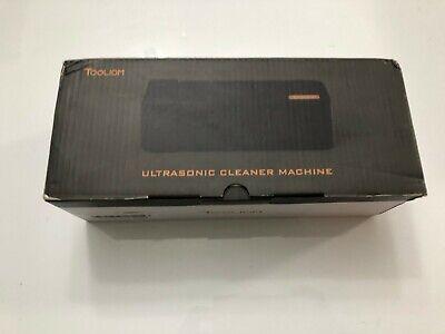 Tooliom Ultrasonic Cleaner 20ounces 600ml 50khz Professional Ultrasonic Jewelry
