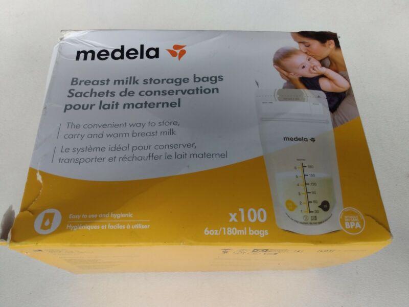Medela Breast Milk Storage Bags, 100 Count