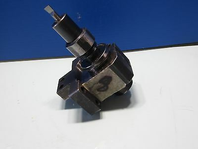 Hardinge Lathe Super Slant Sb-2h Turret Tool Block W Drill Bit Sb-2