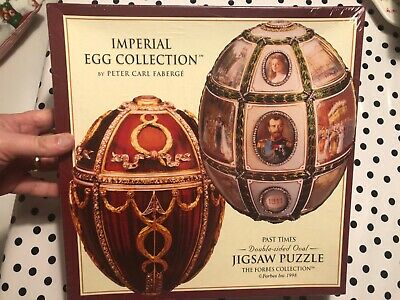 New Imperial Egg Collection Double-Sided Oval Jigsaw Puzzle, Faberge, 600 -