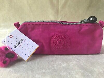 Kipling Freedom Solid Very Berry Pouch Zipper Case