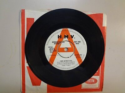 Gene Pitney  Town Without Pity  Air Mail Special Delivery U K  7  61 H M V  Demo