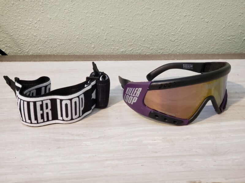 Vintage Killer Loop sunglasses Bausch and Lomb Italy Downhill