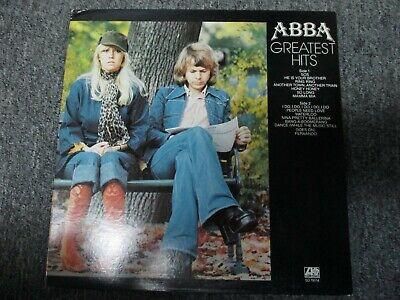 ABBA Greatest Hits Atlantic Records 1977 Vinyl Record LP / EXC