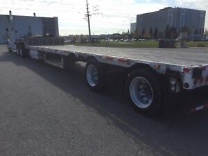 Drop deck trailer