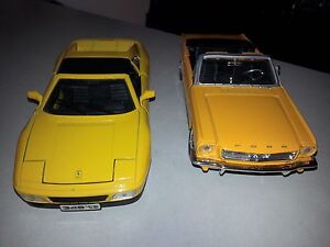 I've got two 1/24 scale cars for sale