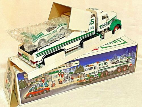 1991 Hess Toy Truck and Racer