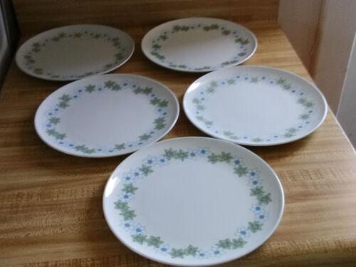 Centura by corning flowered plates