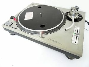 Technics-SL-1200MK2-MK2-D-D-Direct-Drive-Classic-DJ-Turntable-Silver-Japan