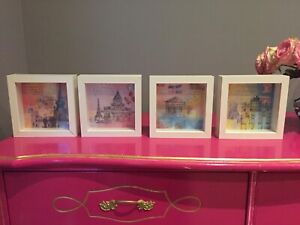 4 IKEA framed pictures of Paris