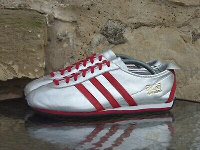 2007 Adidas Special '62 Marathon Vintage Blue UK 9 Silver Red Rare Originals