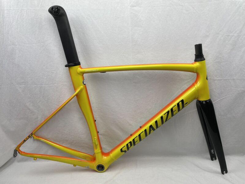 Specialized ALLEZ SPRINT XL 58cm Frame/Fork/Post/HS/BB SmartWeld Moto Orange