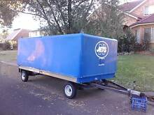 BOX TRAILER BIG FULLY COVERED Woy Woy Gosford Area Preview